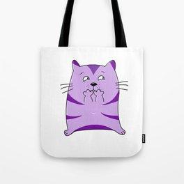 Fraidy Cat Tote Bag