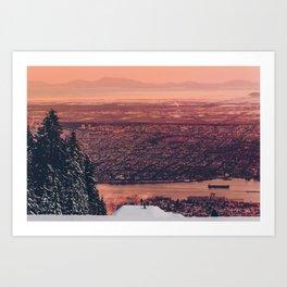 Sick Mountain Art Print