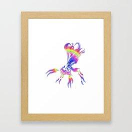 Ichnuemon 4 Framed Art Print