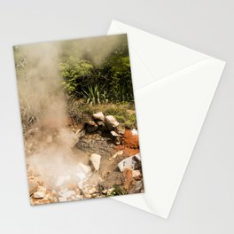 Steamy Volcano Outlet in Costa Rica Stationery Cards