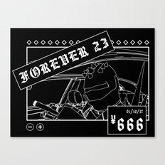 ¥666: Chicharrón Canvas Print