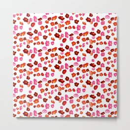 Quince flower pattern 1 Metal Print
