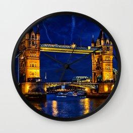 Tower Bridge , London, England, UK Wall Clock