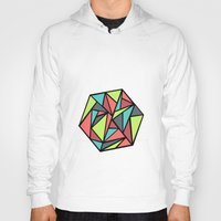 hexagon Hoodies featuring Hexagon by chrfahnestock
