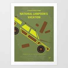 No412 My National Lampoon's Vacation minimal movie poster Art Print