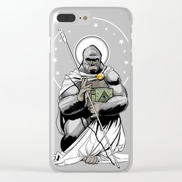 Harambe Lives Clear iPhone Case