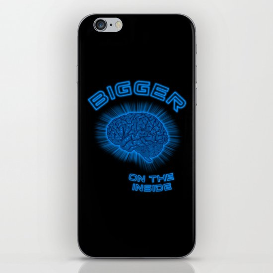 Thoughts And Radical Dreams Inside Skull iPhone & iPod Skin