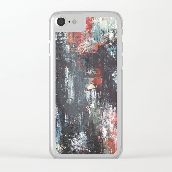 Night light Clear iPhone Case