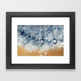 Sea Blue Dandy Framed Art Print
