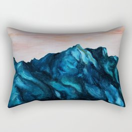 Melting Rocks Rectangular Pillow