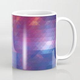 Pixelized Galaxy Coffee Mug