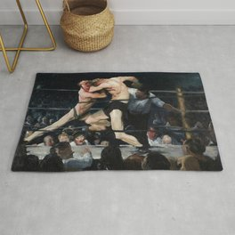 Stag at Sharkey's - George Bellows Rug