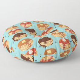 Pancake Sunday Floor Pillow