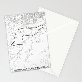 Autodromo Internazionale Enzo e Dino, Imola, Italy Stationery Cards