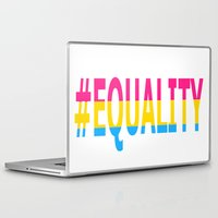 equality Laptop & iPad Skins featuring Pansexual Equality  by TwistedRoots
