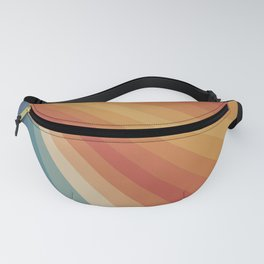Retro 70s Sunrays Fanny Pack