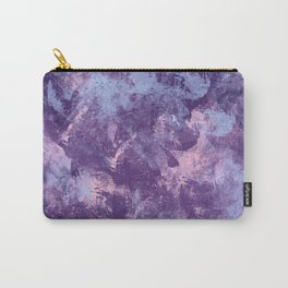 Purple texture Carry-All Pouch