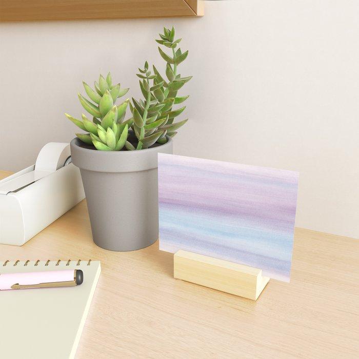 Pastel Watercolor Dream #1 #painting #decor #art #society6 Mini Art Print