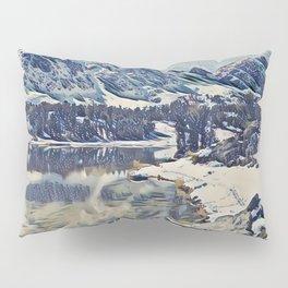 Mountain Lake, Eastern Sierra, California Pillow Sham