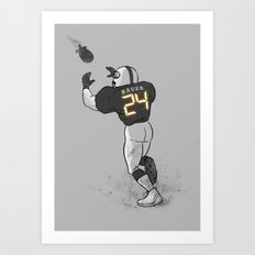 Number Twenty Four Art Print
