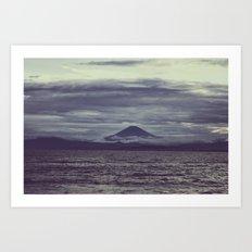 Mont Fuji Art Print