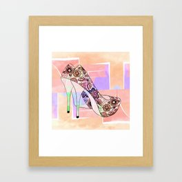 The Right Shoes 2 Framed Art Print