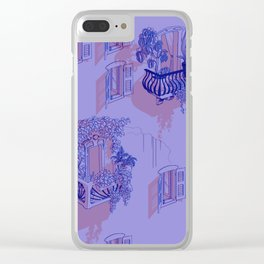 cityscapes Clear iPhone Case