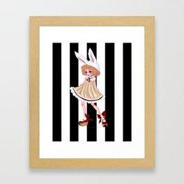 Petite Lapine Framed Art Print