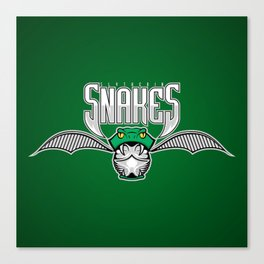 Snakes Slytherin Canvas Print