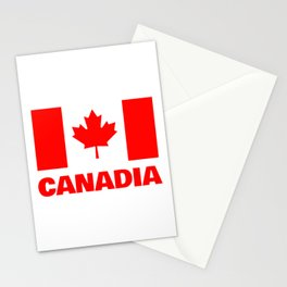 Canadia - Canadan Flag Stationery Cards