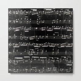 Nota Bene (black) Metal Print