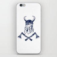 viking iPhone & iPod Skins featuring Viking by Spiro Vasilevski