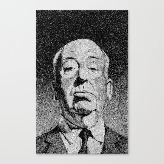 Fingerprint - Hitchcock Canvas Print