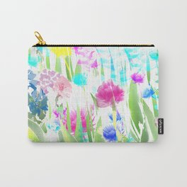 Floral abstract 82 Carry-All Pouch
