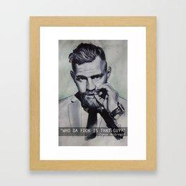 WDF Framed Art Print