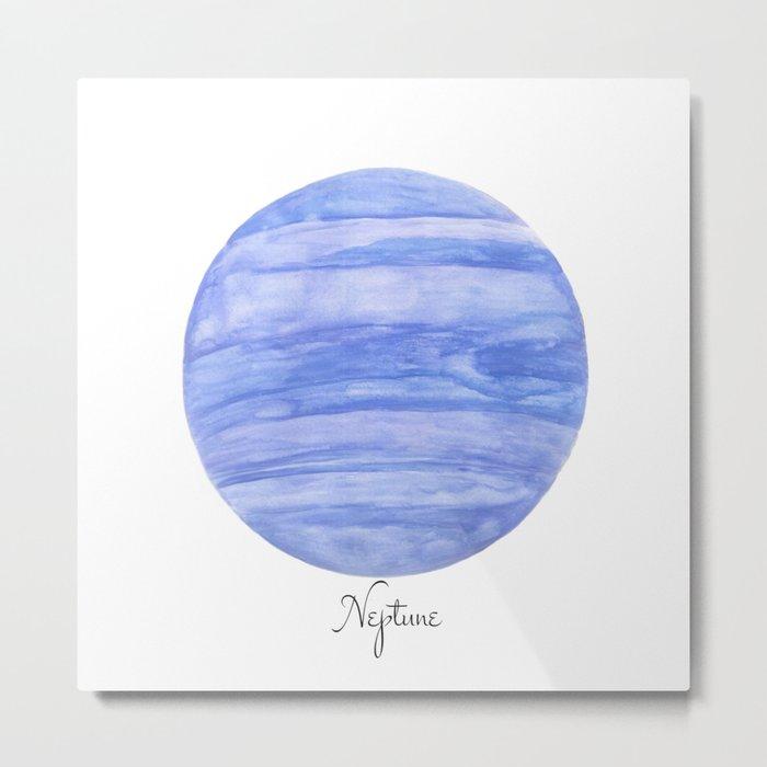 Neptune planet Metal Print