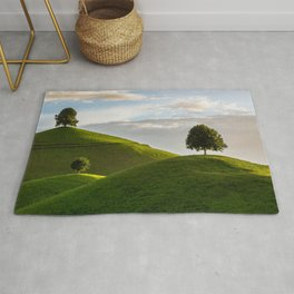One Tree Hills, Ireland, Springtime, Emerald Isles Photograph Rug