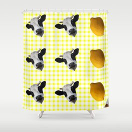 Milk Milk Lemonade Shower Curtain