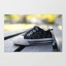 The Lonely Shoe Canvas Print