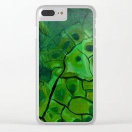 Dried Tempura Clear iPhone Case