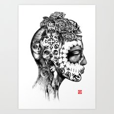 DEPARTURE LOUNGE no 1 Art Print