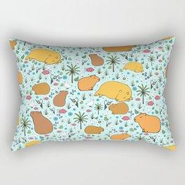 Capybaras Rectangular Pillow