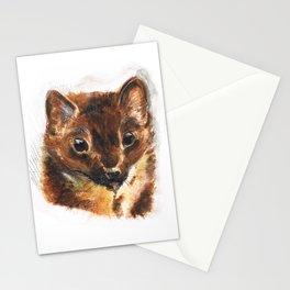 European Pine Marten Stationery Cards