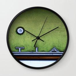 Old Car (an abstract) Wall Clock