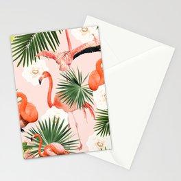 Flamingo Guava #society6 #decor #buyart Stationery Cards