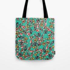 Aqua Koi Tote Bag