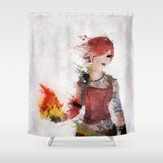 Lilith Shower Curtain