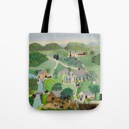 Anna Mary Robertson 'Grandma' Moses The Old Oaken Bucket American Folk Art Tote Bag