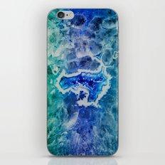 MINERAL MAZE iPhone & iPod Skin