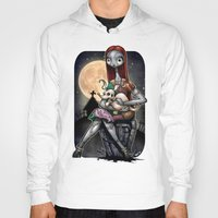 Hoodies featuring Sally &  Zero by Tim Shumate
